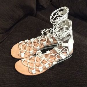 "Jeffrey Campbell ""Burma"" Sandals sz 7"